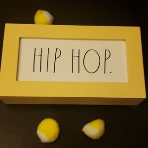 """Easter """"Hip Hop"""" Sign by Rae Dunn"""